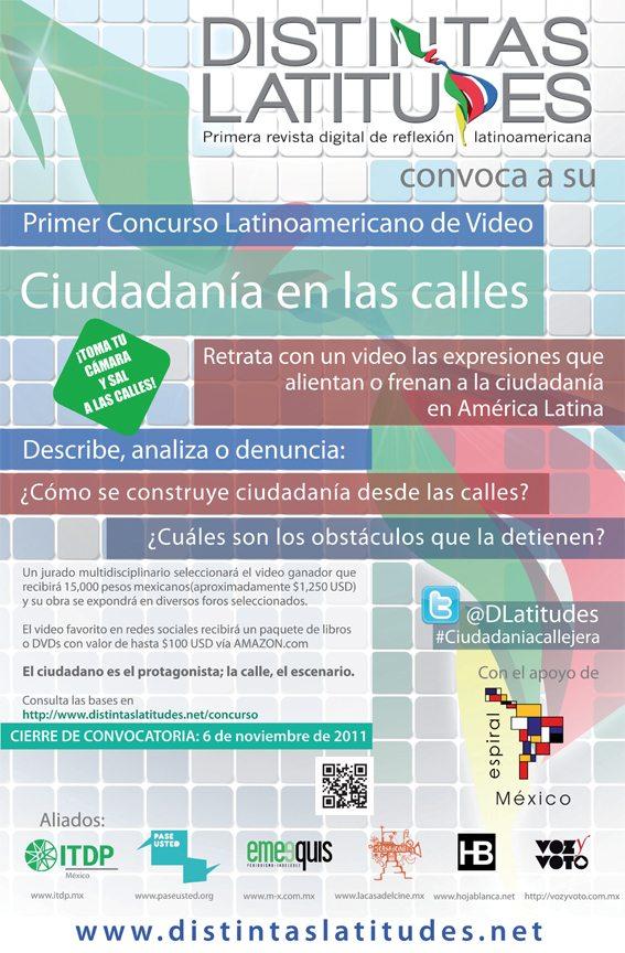 DL convoca a su 1er Concurso Latinoamericano de Video