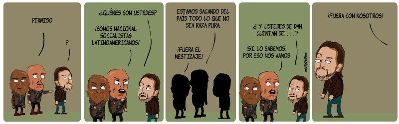 Latinoamerican Splendor 2 (Tira cómica desde Colombia)