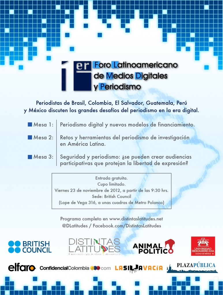 Programa Foro Latinoamericano de Medios Digitales y Periodismo