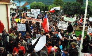 Problemas, demandas y violencia alrededor del Movimiento Social por Aysén, Chile