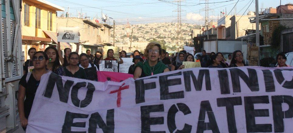 Mujeres mexicanas llevan esperanza al epicentro de los feminicidios