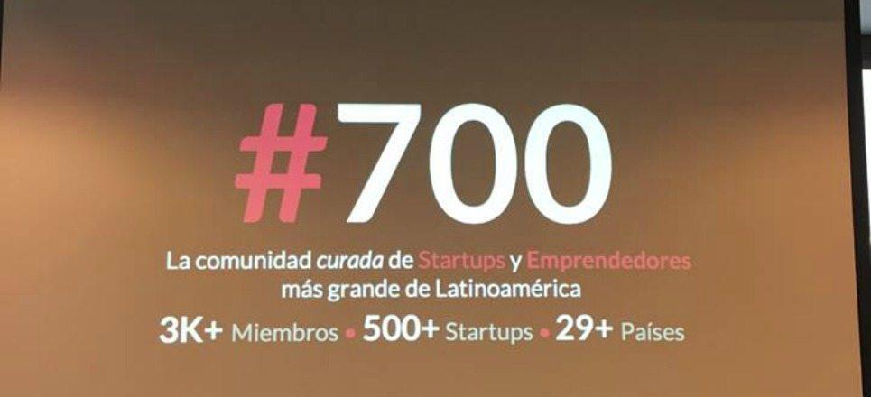 #700, la comunidad de emprendedores latinoamericanos más grande