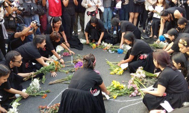 25N Perú: todas de luto porque vivas nos queremos