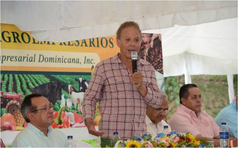 Empresario Ángel Rondón.