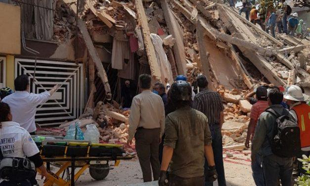 Terremoto de magnitud 7.1 en  México: 32 años después, la historia se repite.