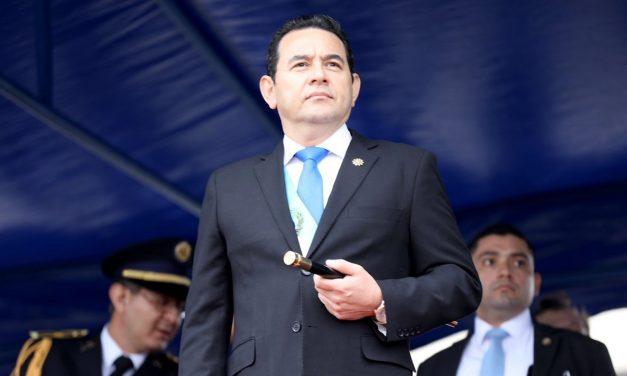 Comienza en Guatemala proceso de antejuicio contra el presidente Jimmy Morales