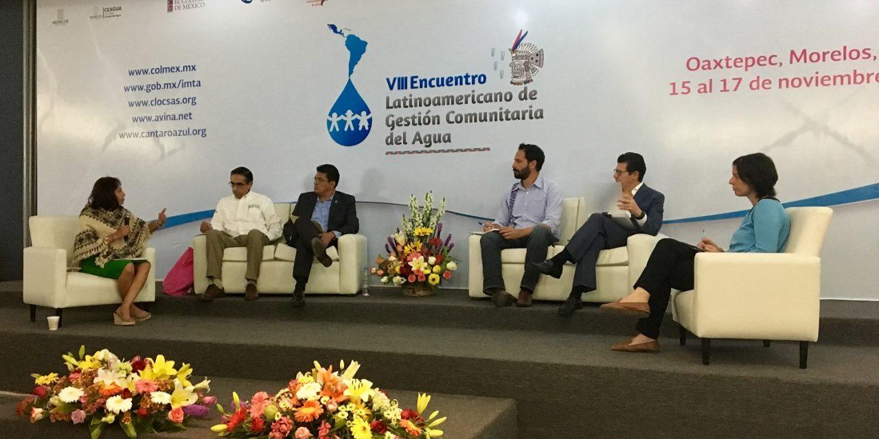 ¿Qué pasa con el acceso al agua en comunidades marginadas de México?, un contexto expuesto en el #VIIIEncuentroGCA