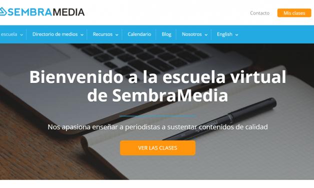 Una escuela virtual enfocada en periodismo emprendedor, nuevo hito en la historia de SembraMedia