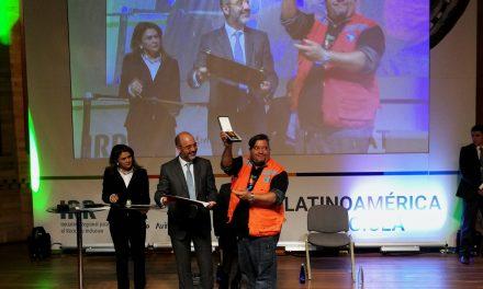 Recicladores de América Latina reciben reconocimiento a su labor en Bogotá