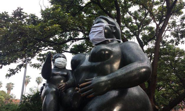 En América Latina hasta las estatuas deben protegerse del aire contaminado