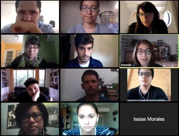Los periodistas cubrimos una parte muy limitada de la migración. Sesión de aprendizaje con la Red Latam de Jóvenes Periodistas
