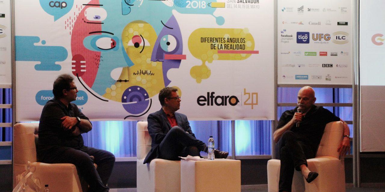 Primeras instantáneas del Foro Centroamericano de Periodismo 2018